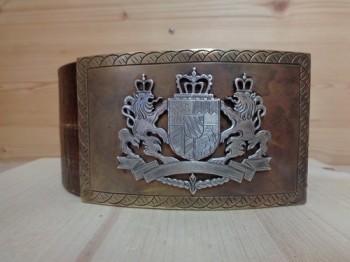 Königlich bayrischer Jagdgürtel/Trachtengürtel