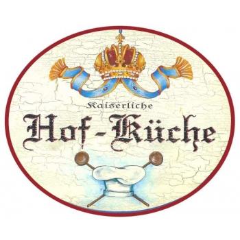 Hof - Küche oval