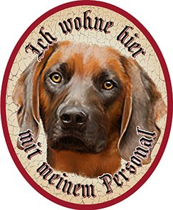 Bayrischer Gebirgsschweißhund Hund +