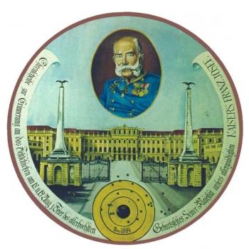 Kaiser Franz Josef Geburtstagsscheibe