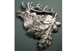hat pin - deer