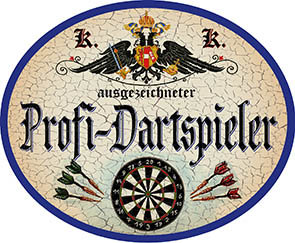 Profi Dartspieler