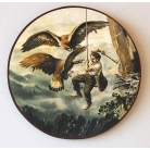 Schützenscheibe Nesträuber Adler