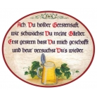 Ach du holder Gerstensaft