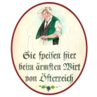 Sie speisen beim ärmsten Wirt Österreichs