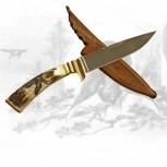 Jagdmesser mit Auerhahngravur
