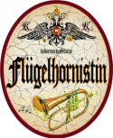 Flügelhornistin +