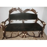 antlers bench