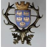 Hubertushirsch Wappen Niederösterreich Österreich Email