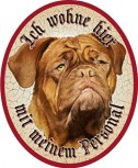 Hund 49 Bordeaux Dogge +
