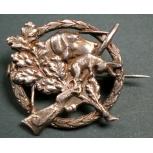 hat pin - sniper badge