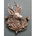 hat badge - roebuck