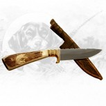 Jagdmesser mit Fischermotiven