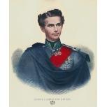 König Ludwig II. Portrait