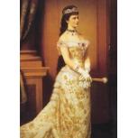 Elisabeth Kaiserin von Österreich Ballkleid 1878