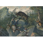 Angriff des Steinbocks