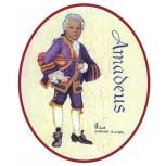 Amadeus mit Geige