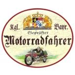 Motorradfahrer (Bayern)