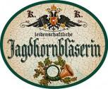 Jagdhornbläserin +