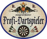 Profi-Dartspieler +
