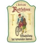 1. Lektion Radfahren