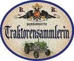 Traktorensammlerin +